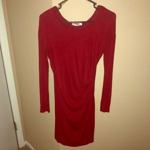 Red Wine Colored Bodycon dress Large